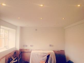 The kitchen in progress