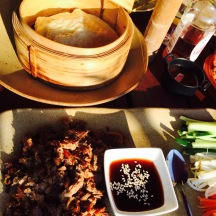 hoisin duck pancakes